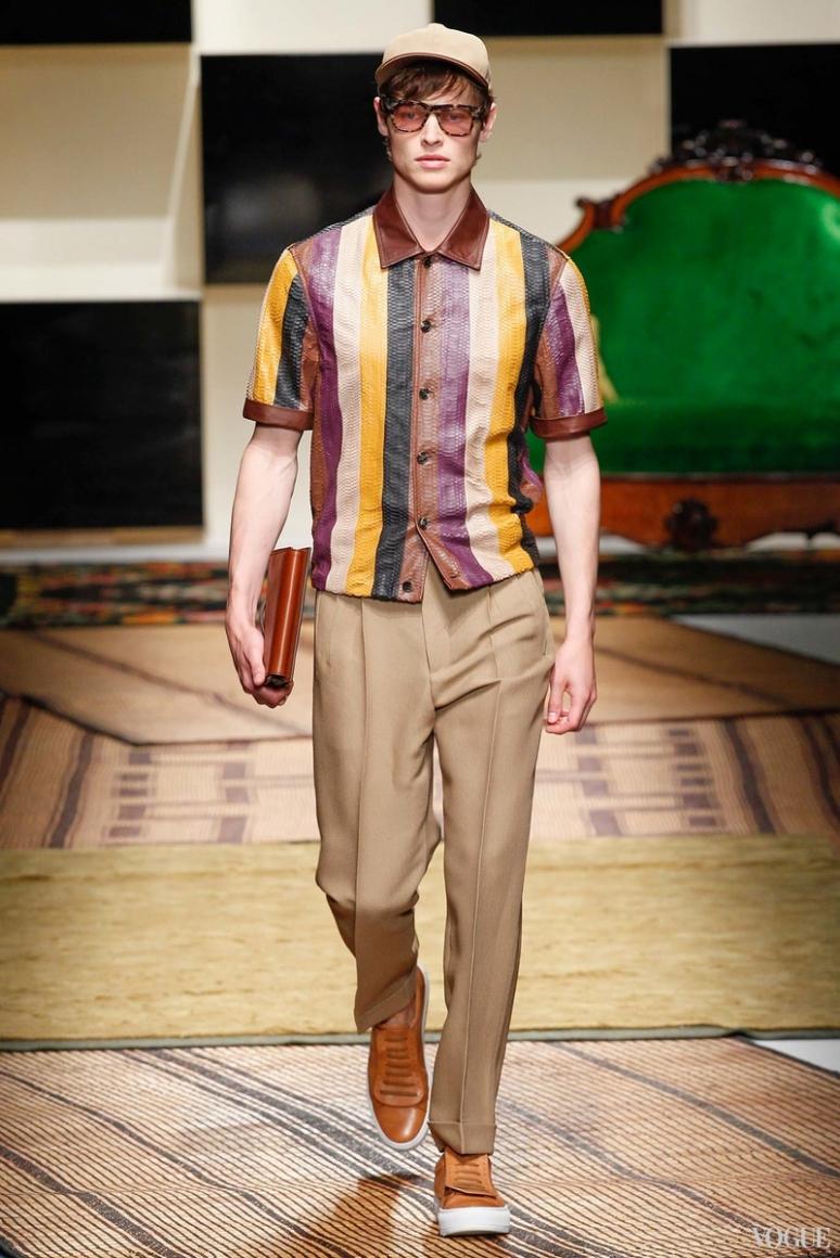 Salvatore Ferragamo Menswear весна-лето 2016 #17