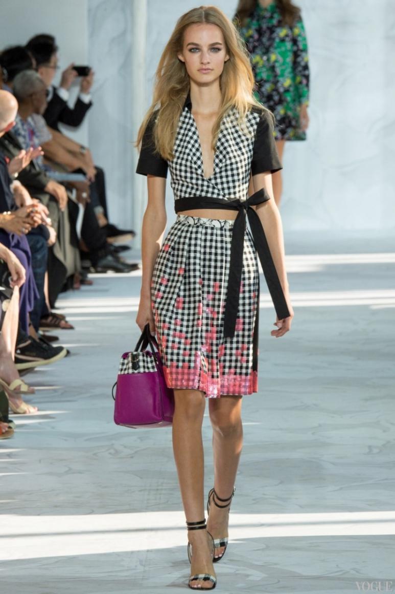 Diane Von Furstenberg весна-лето 2015 #26