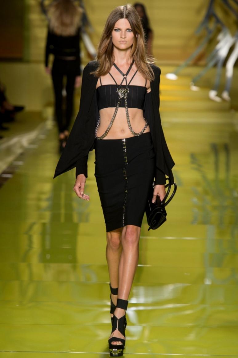Versace весна-лето 2014 #27