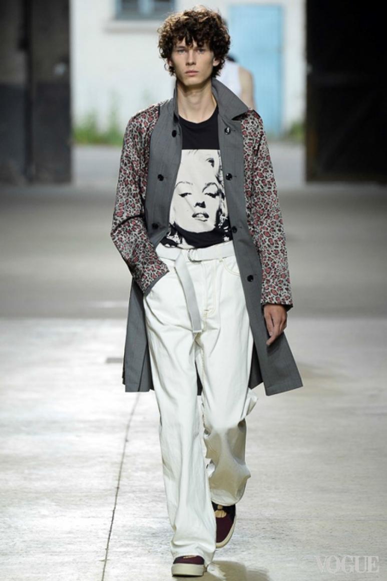 Dries van Noten Menswear весна-лето 2016 #53