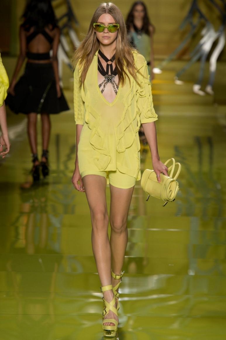 Versace весна-лето 2014 #24