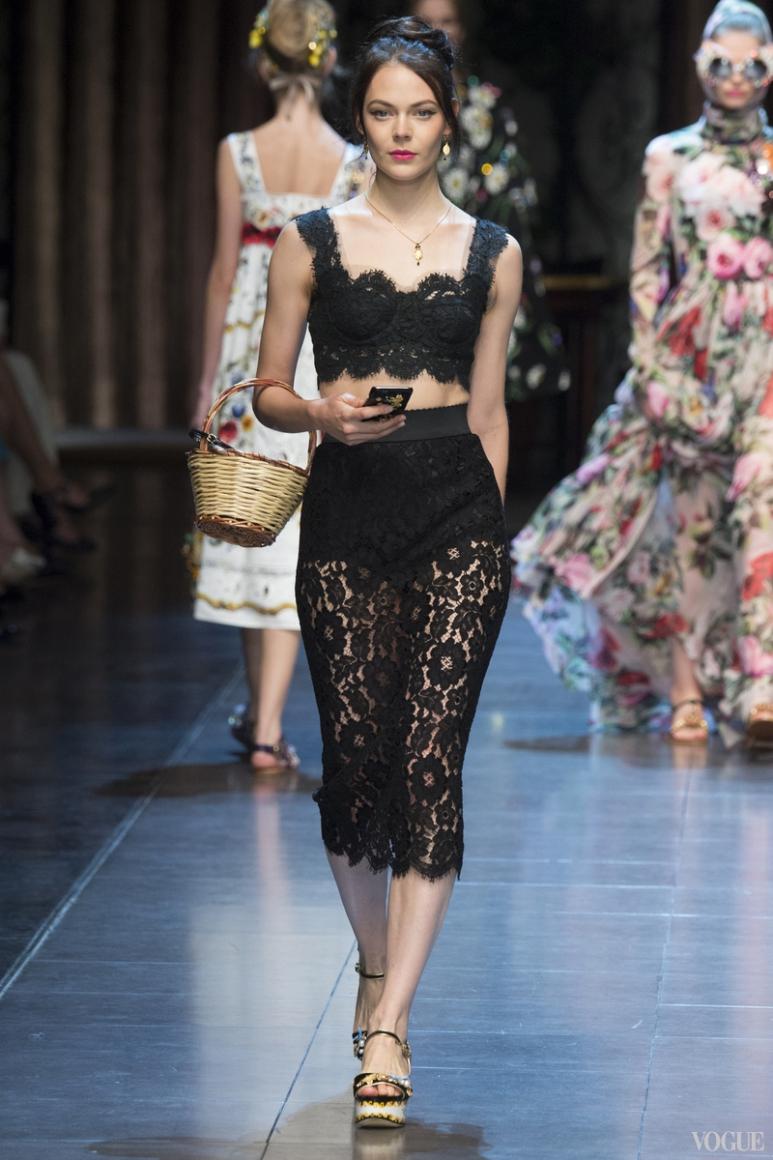 Dolce & Gabbana весна-лето 2016 #63