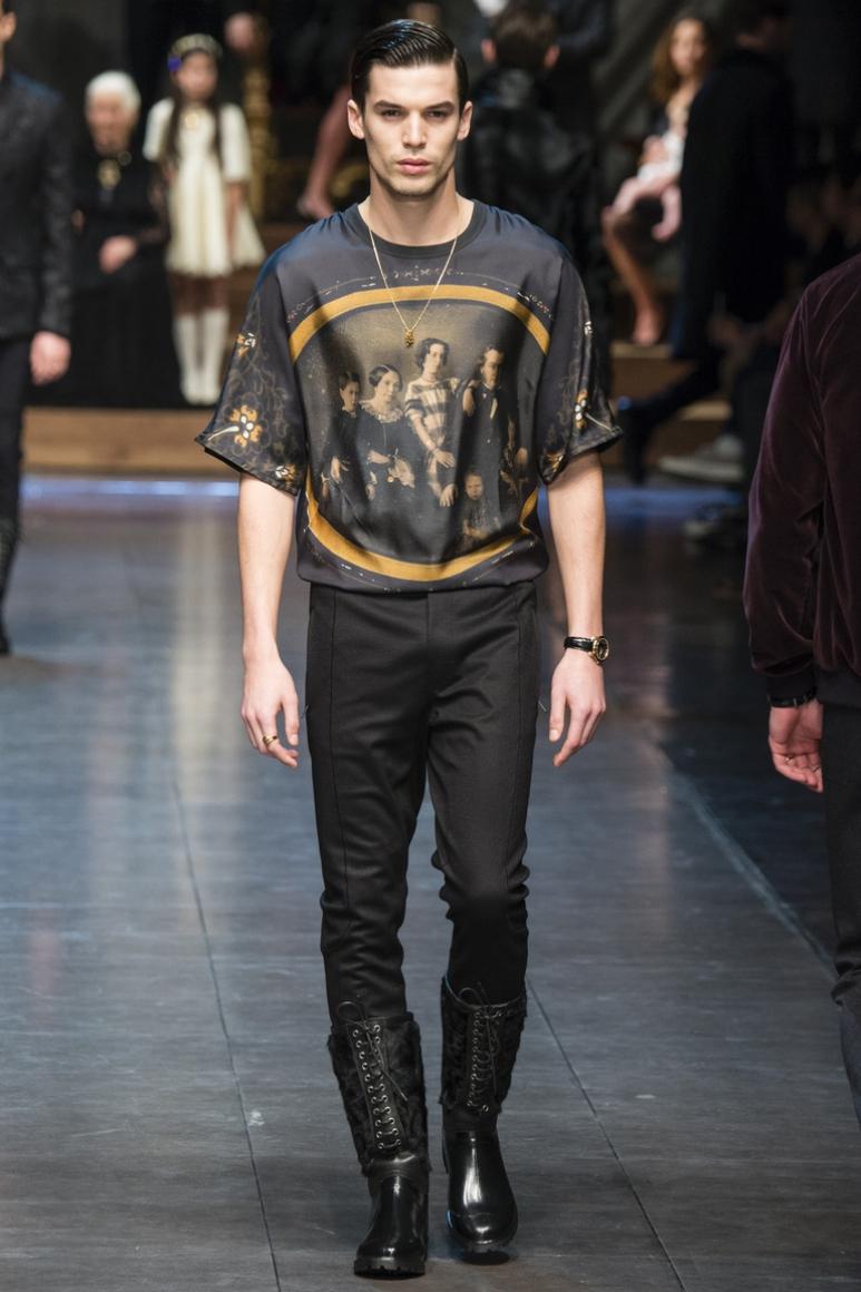 Dolce & Gabbana Menswear осень-зима 2015/2016 #74