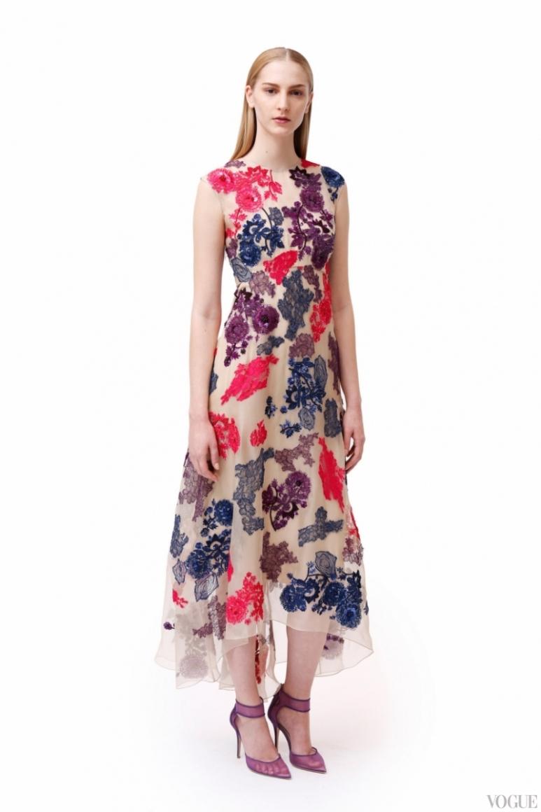 Monique Lhuillier Couture весна-лето 2013 #11