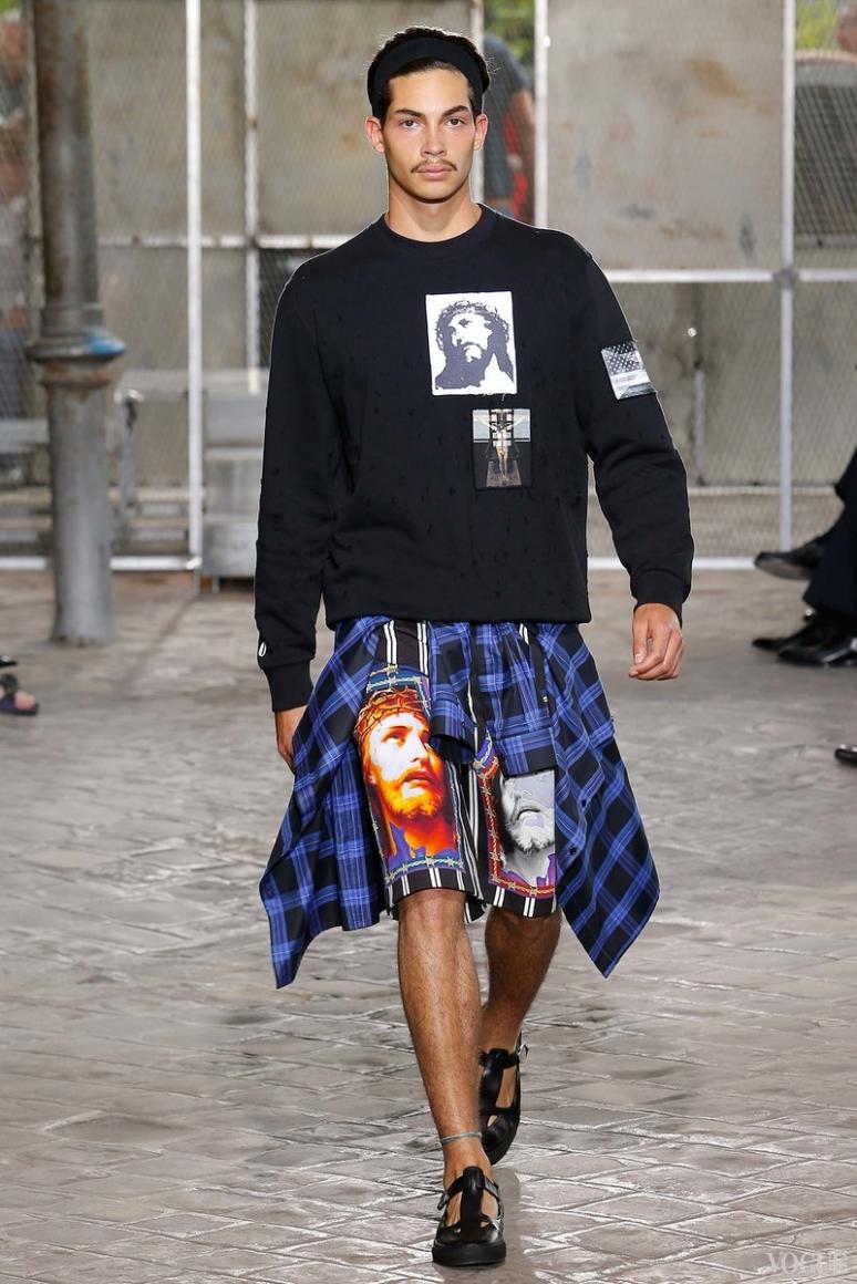 Givenchy Menswear весна-лето 2016 #21