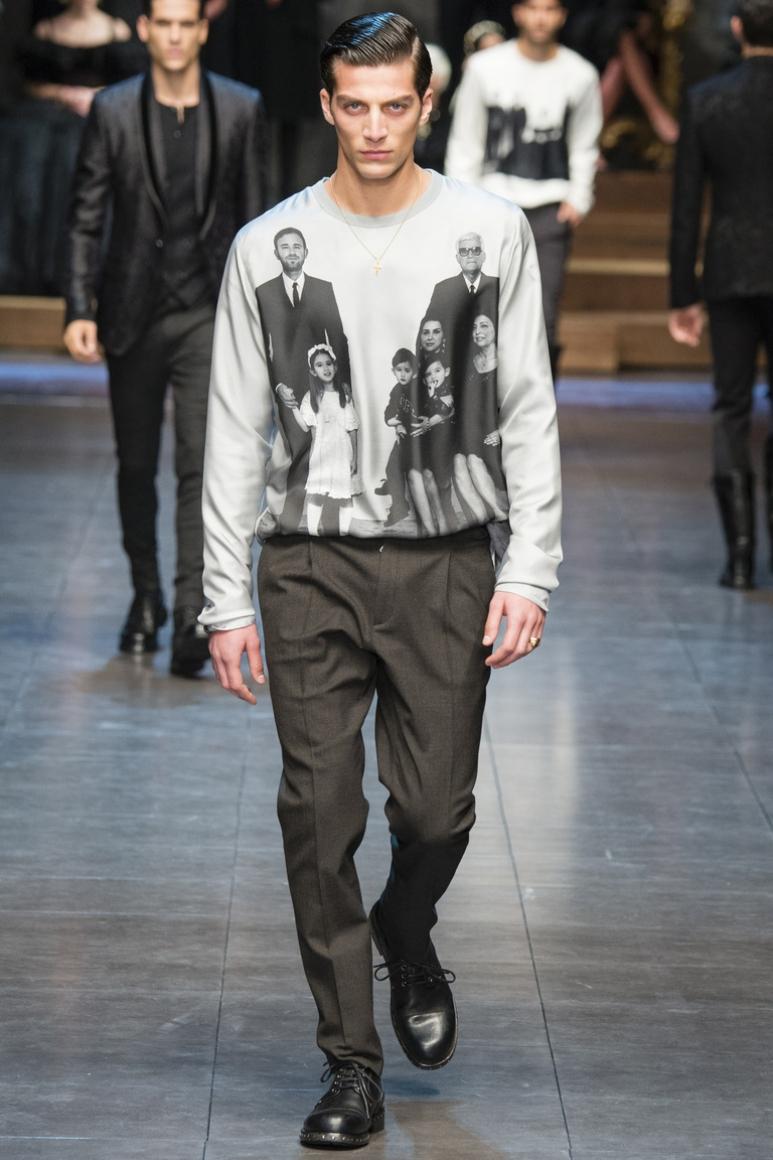 Dolce & Gabbana Menswear осень-зима 2015/2016 #70