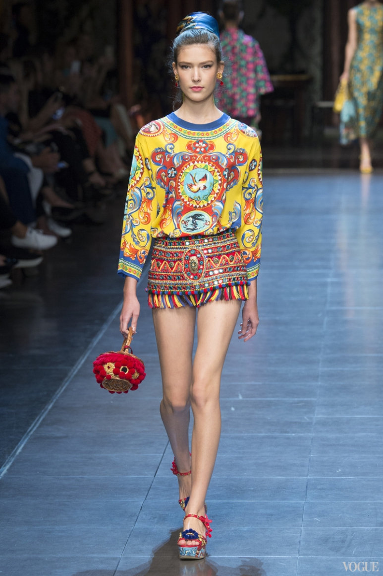 Dolce & Gabbana весна-лето 2016 #54