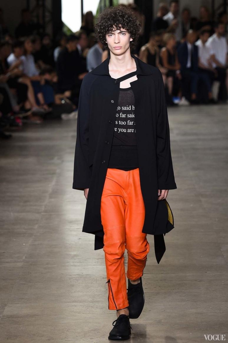 Ann Demeulemeester Menswear весна-лето 2016 #15