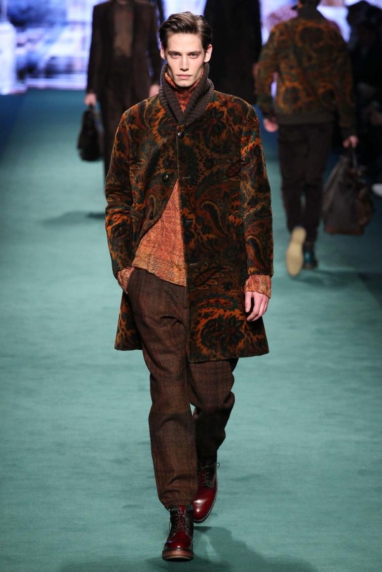 Etro Menswear осень-зима 2015/2016 #47