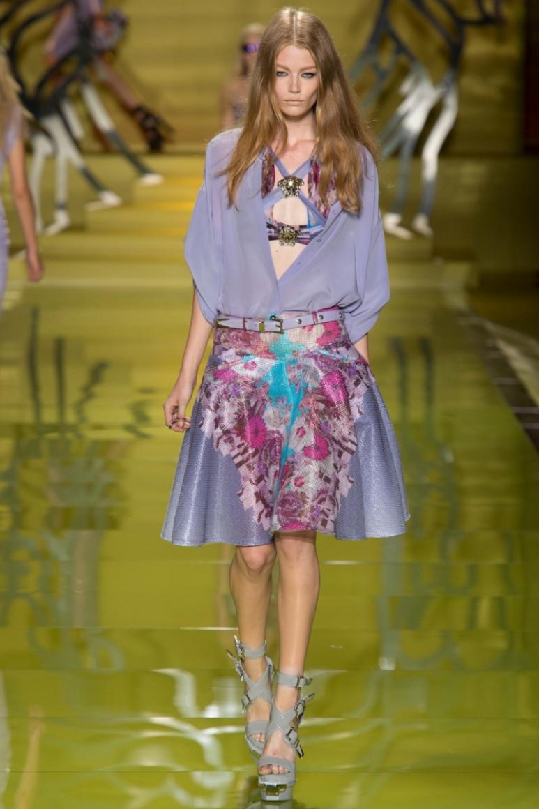 Versace весна-лето 2014 #31