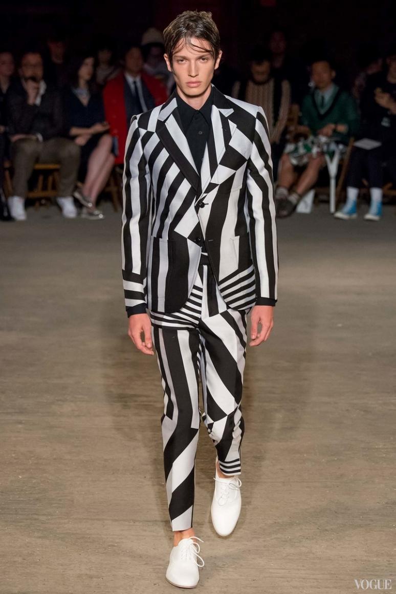 Alexander McQueen Menswear весна-лето 2016 #10