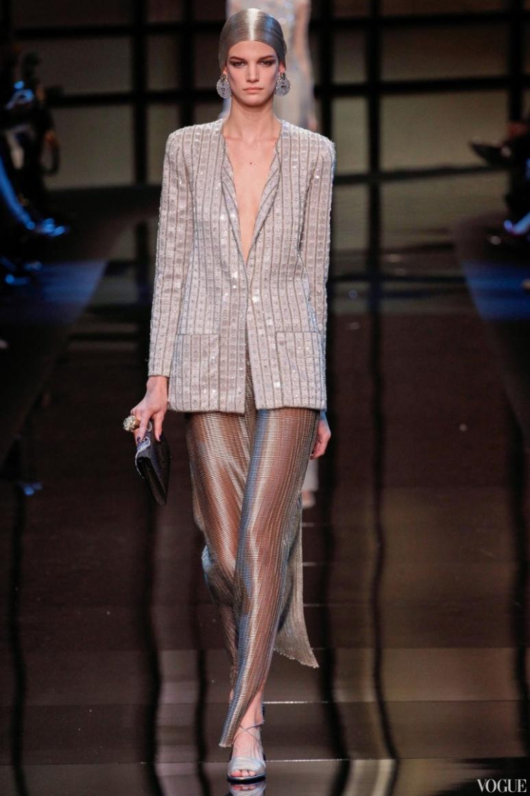 Armani Priv? Couture весна-лето 2014 #10