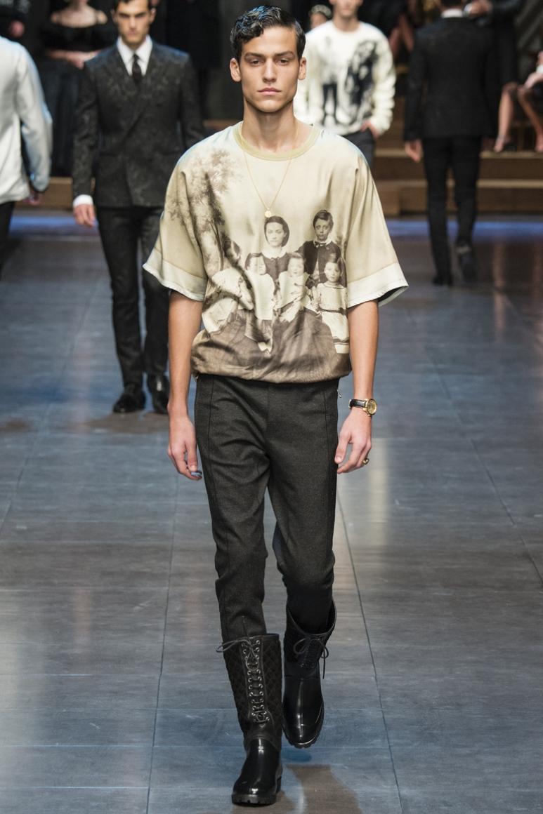 Dolce & Gabbana Menswear осень-зима 2015/2016 #82