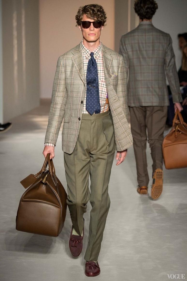 Dunhill Menswear весна-лето 2016 #23