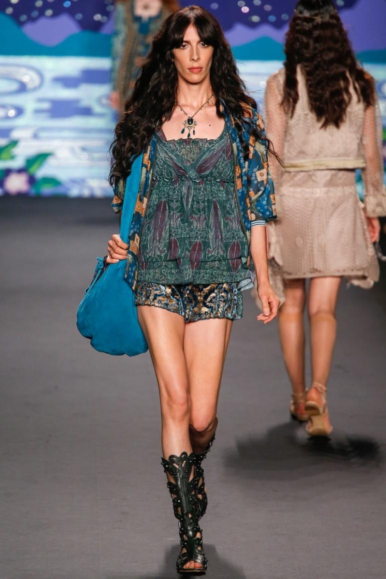 Anna Sui весна-лето 2014 #43