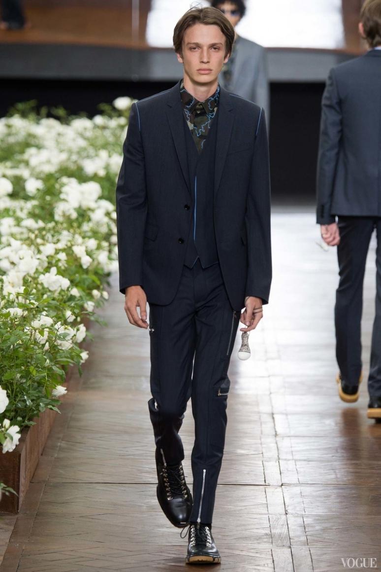 Dior Homme Menswear весна-лето 2016 #41