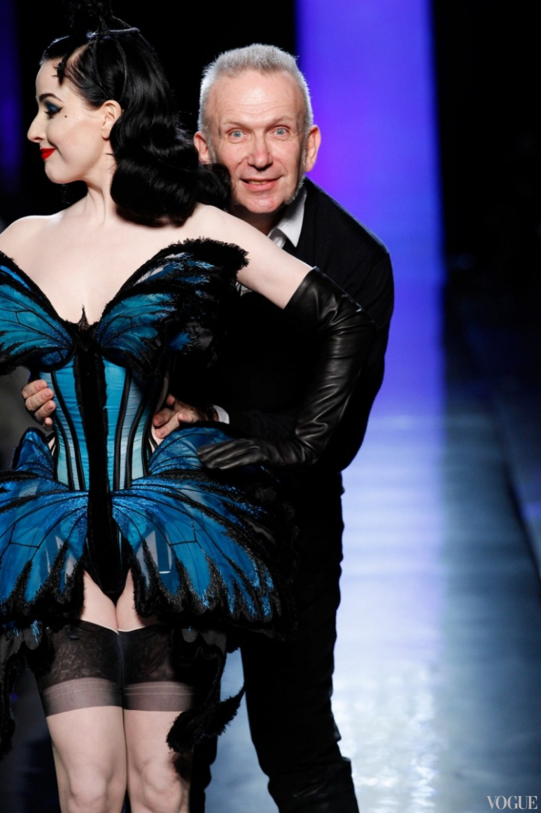 Jean Paul Gaultier Couture весна-лето 2014 #3