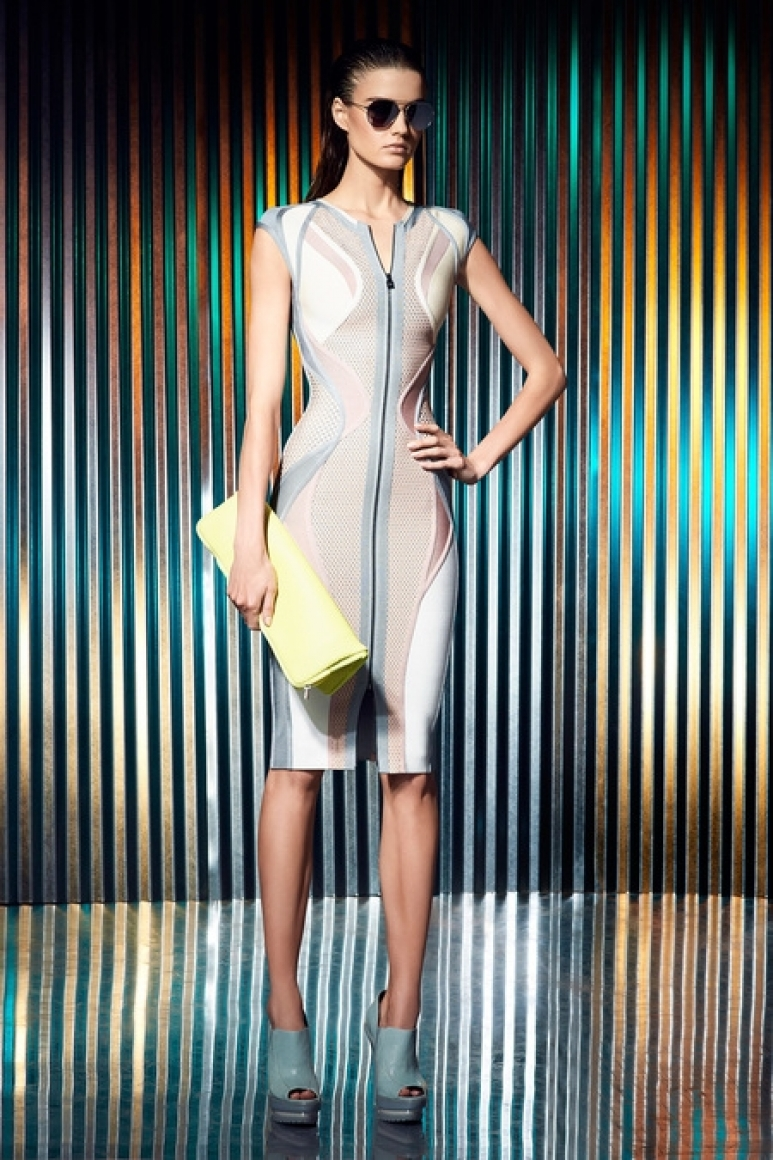 Herve Leger by Max Azria Resort 2014 #35