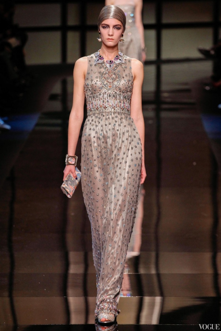 Armani Priv? Couture весна-лето 2014 #6