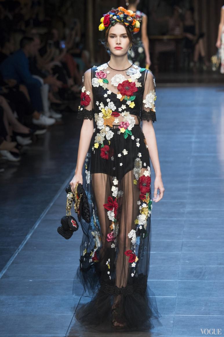 Dolce & Gabbana весна-лето 2016 #30