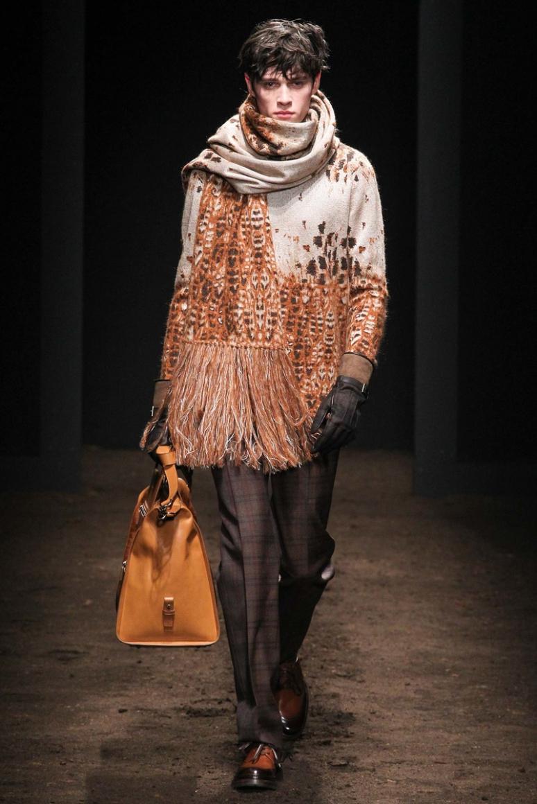 Salvatore Ferragamo Menswear осень-зима 2015/2016 #8