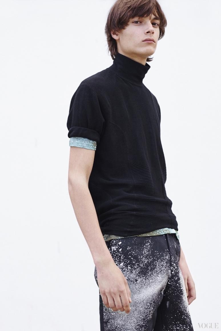 John Galliano Menswear весна-лето 2016 #14