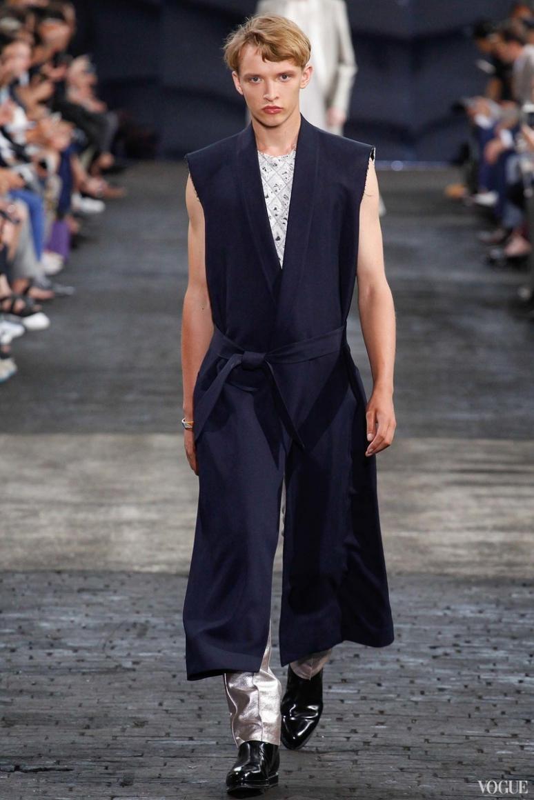 Maison Martin Margiela Menswear весна-лето 2016 #22