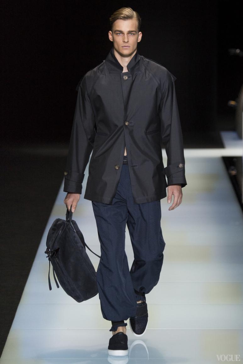 Giorgio Armani Menswear весна-лето 2016 #20
