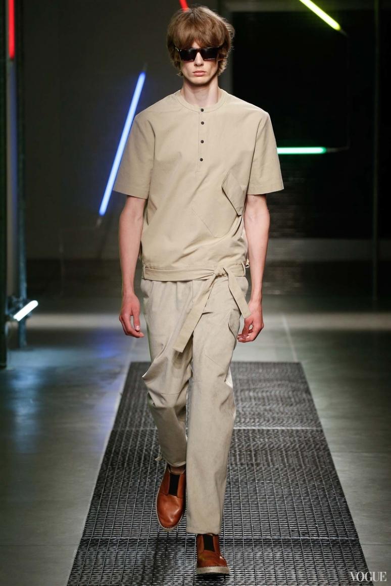 MSGM Menswear весна-лето 2016 #23