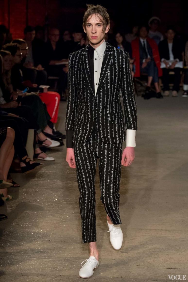 Alexander McQueen Menswear весна-лето 2016 #15