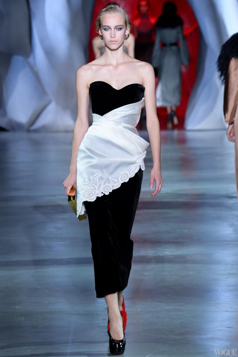 Ulyana Sergeenko Couture осень-зима 2014/2015 #17