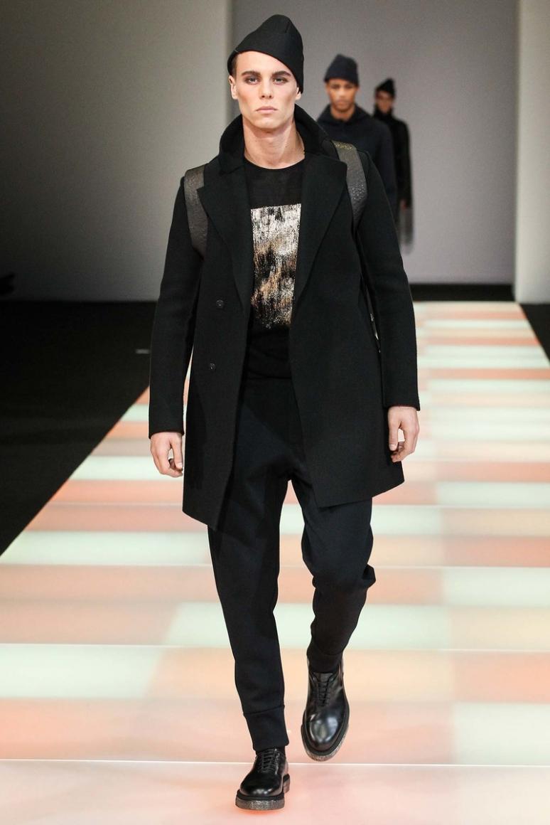 Emporio Armani Menswear осень-зима 2015/2016 #31