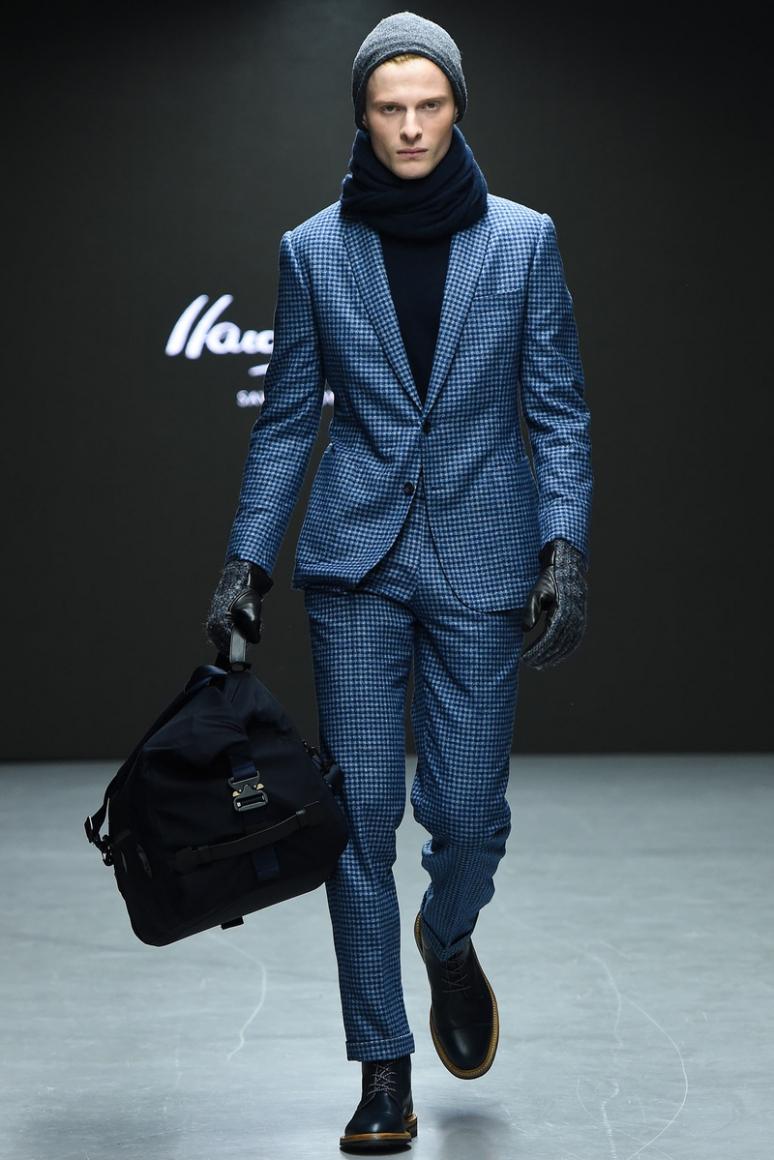 Hardy Amies Menswear осень-зима 2015/2016 #12