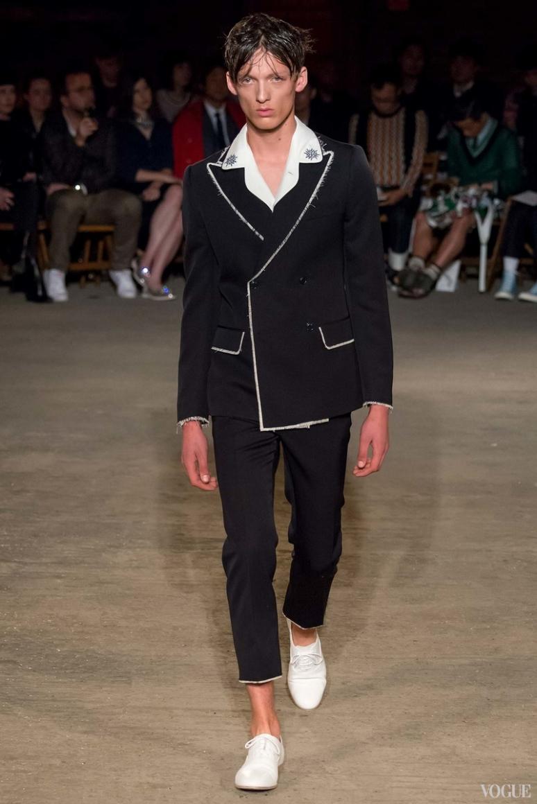 Alexander McQueen Menswear весна-лето 2016 #6