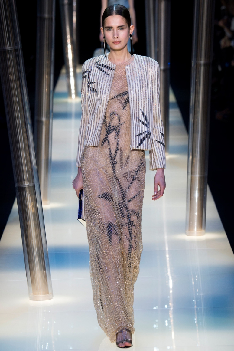 Armani Priv? Couture весна-лето 2015 #25