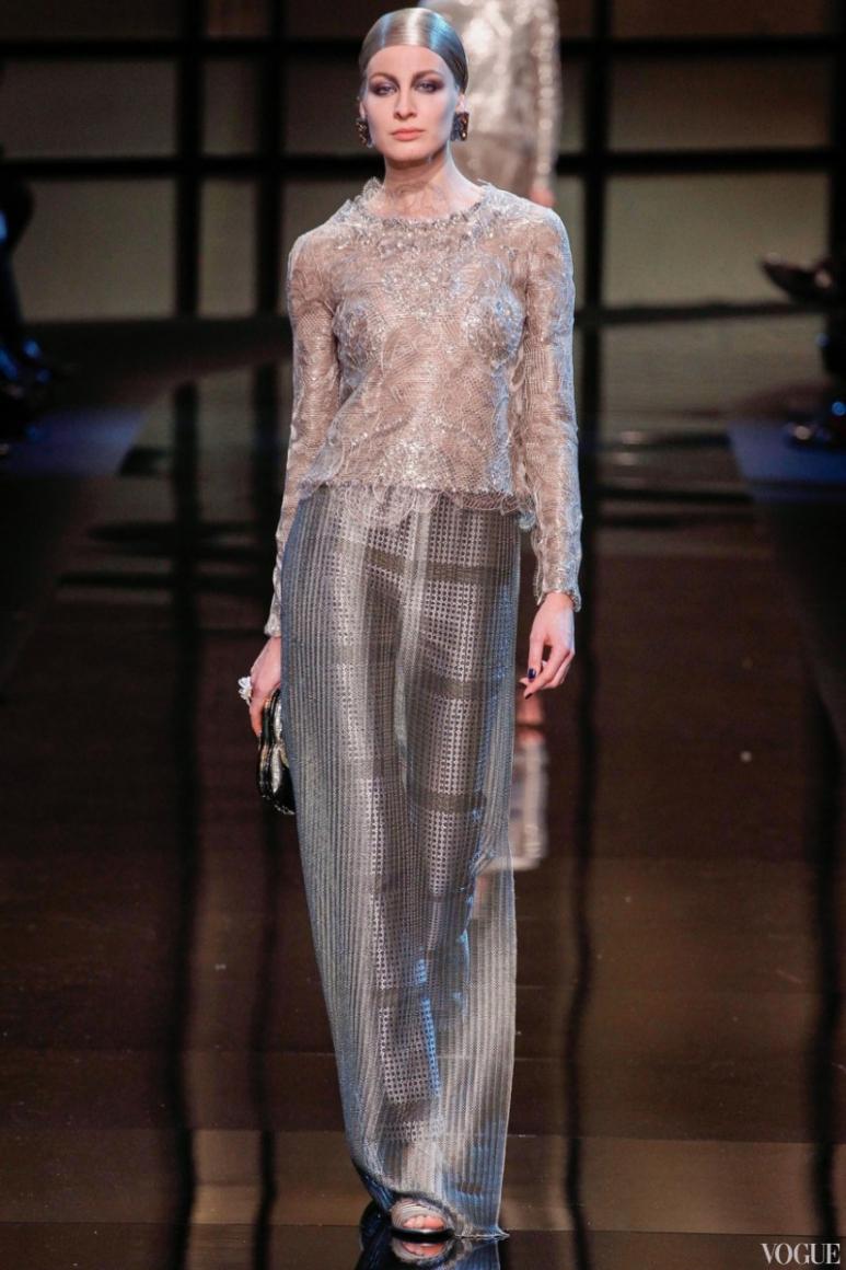 Armani Priv? Couture весна-лето 2014 #4