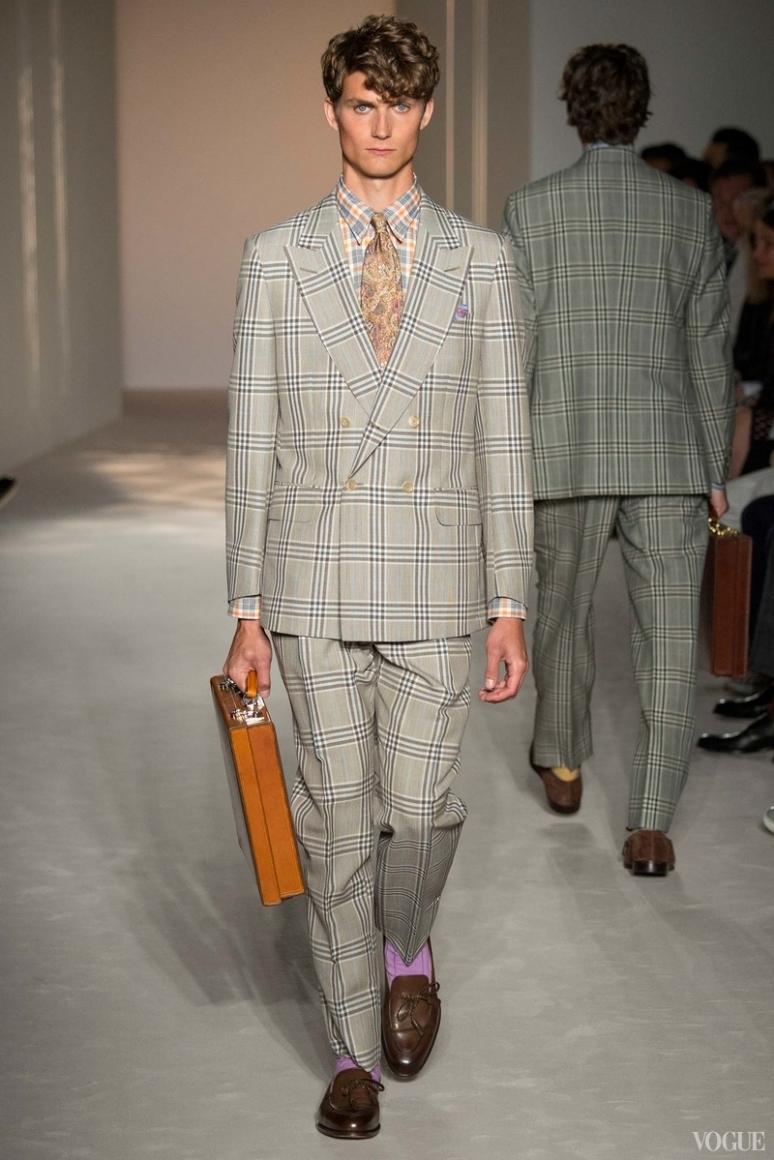 Dunhill Menswear весна-лето 2016 #25