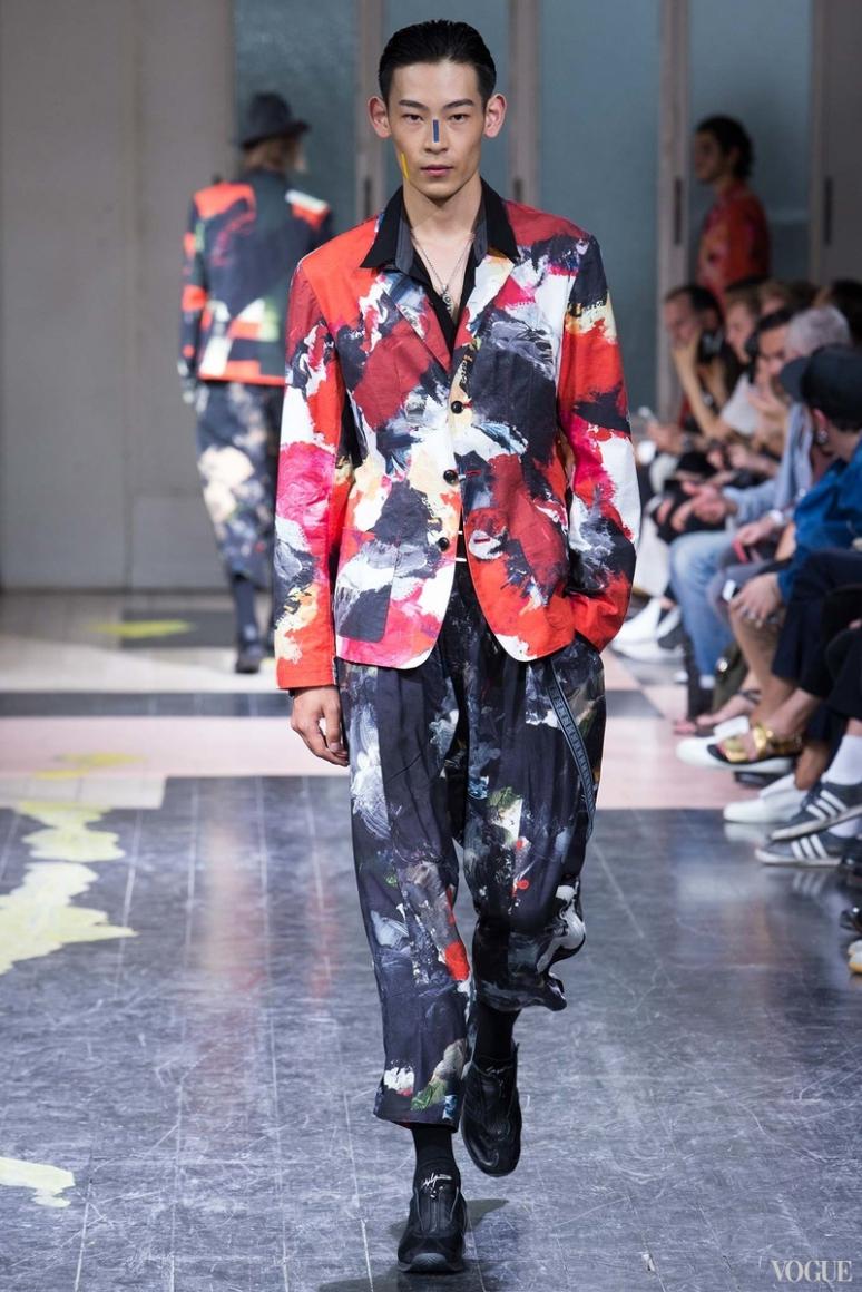 Yohji Yamamoto Menswear весна-лето 2016 #32