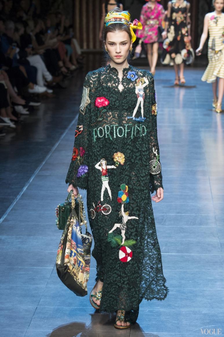 Dolce & Gabbana весна-лето 2016 #81