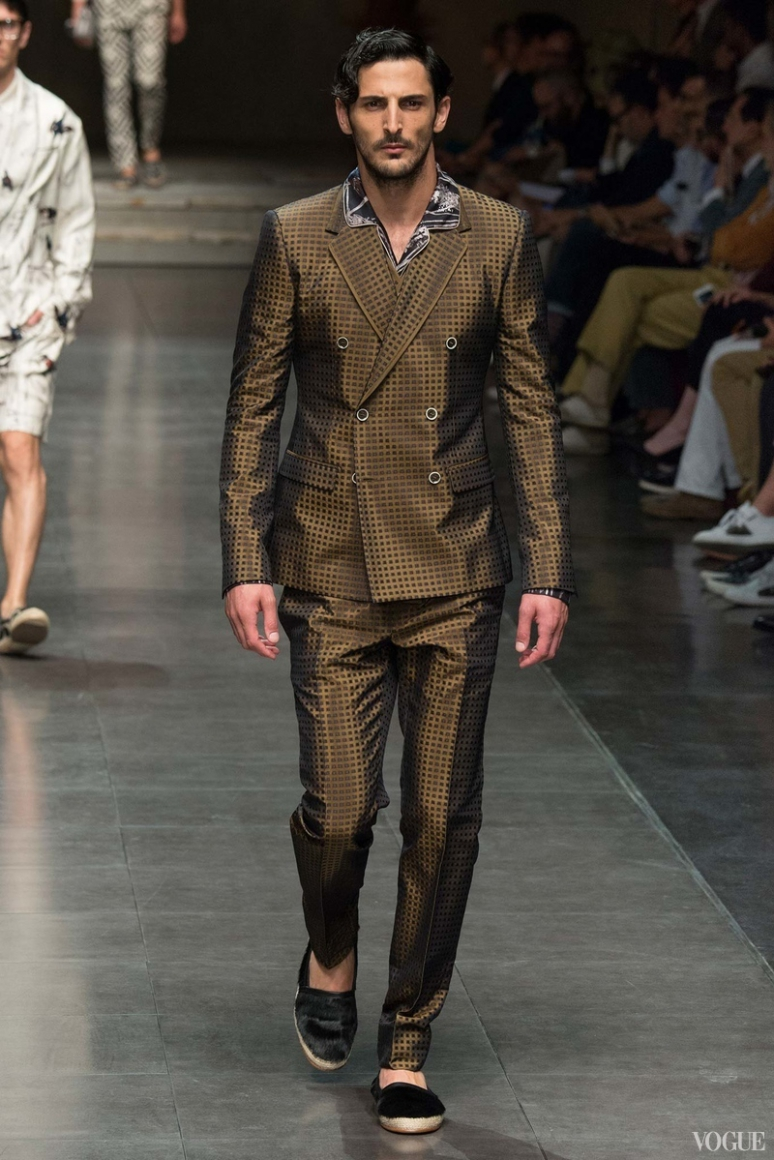 Dolce & Gabbana Menswear весна-лето 2016 #49