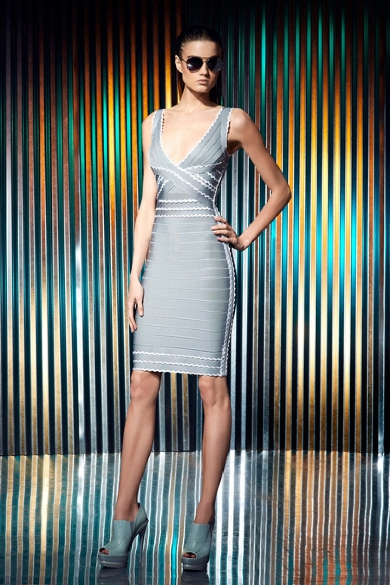 Herve Leger by Max Azria Resort 2014 #26