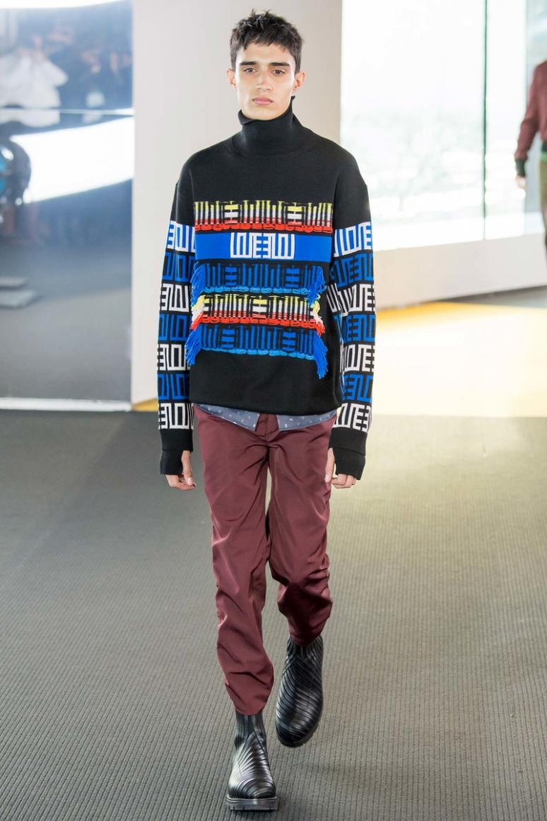 Kenzo Menswear осень-зима 2015/2016 #41