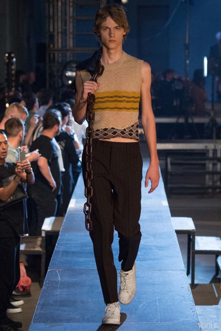 Raf Simons Menswear весна-лето 2016 #21