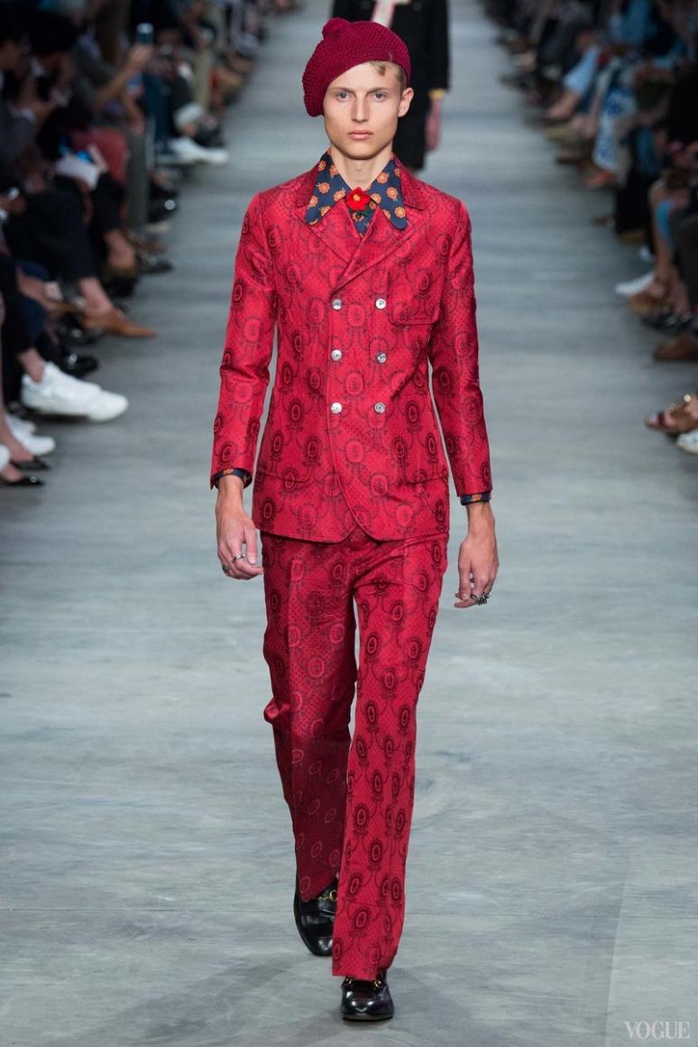 Gucci Menswear весна-лето 2016 #10