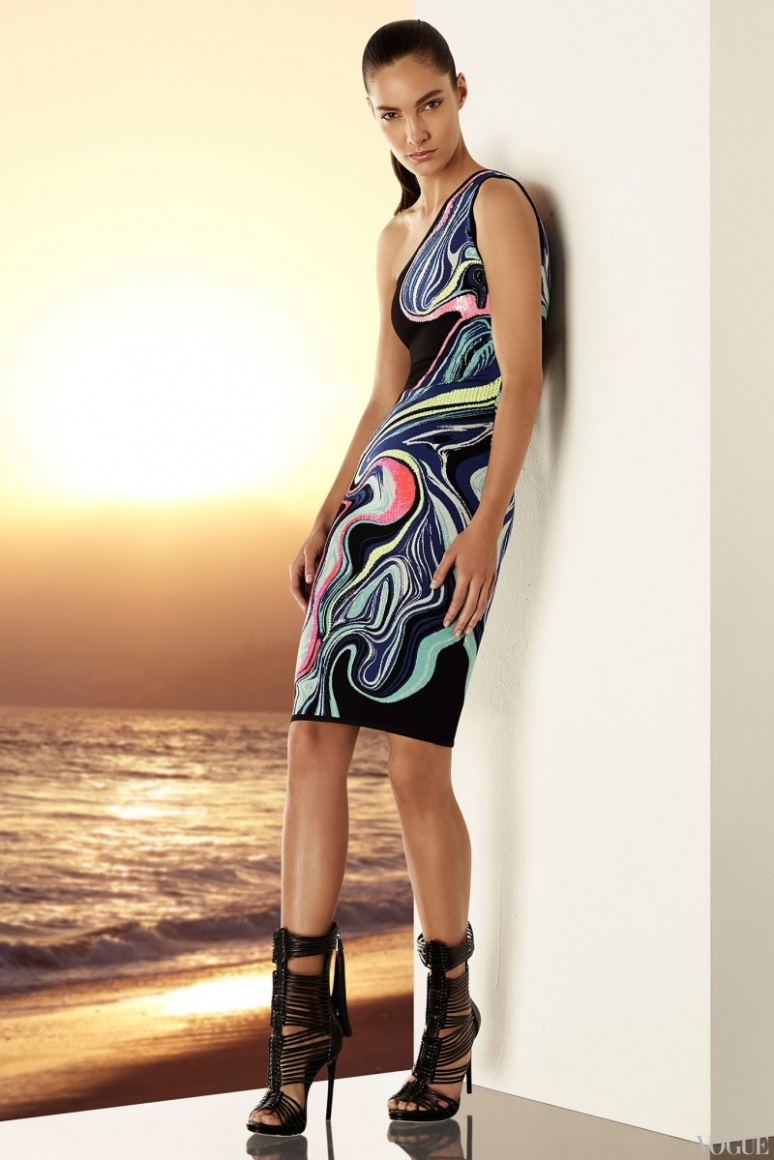 Herve Leger by Max Azria Resort 2015 #18