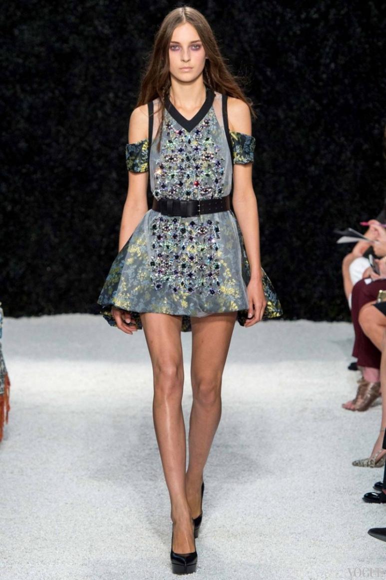 Vera Wang весна-лето 2015 #16