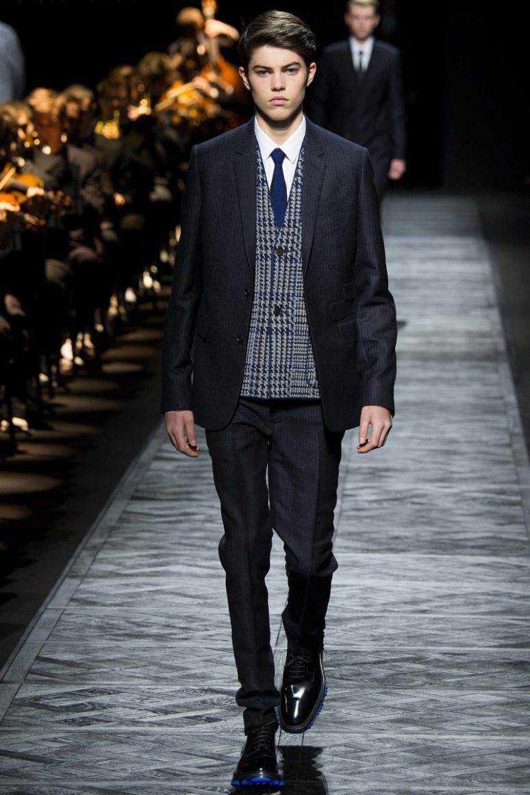 Dior Homme Menswear осень-зима 2015/2016 #19