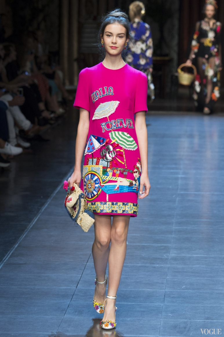 Dolce & Gabbana весна-лето 2016 #48