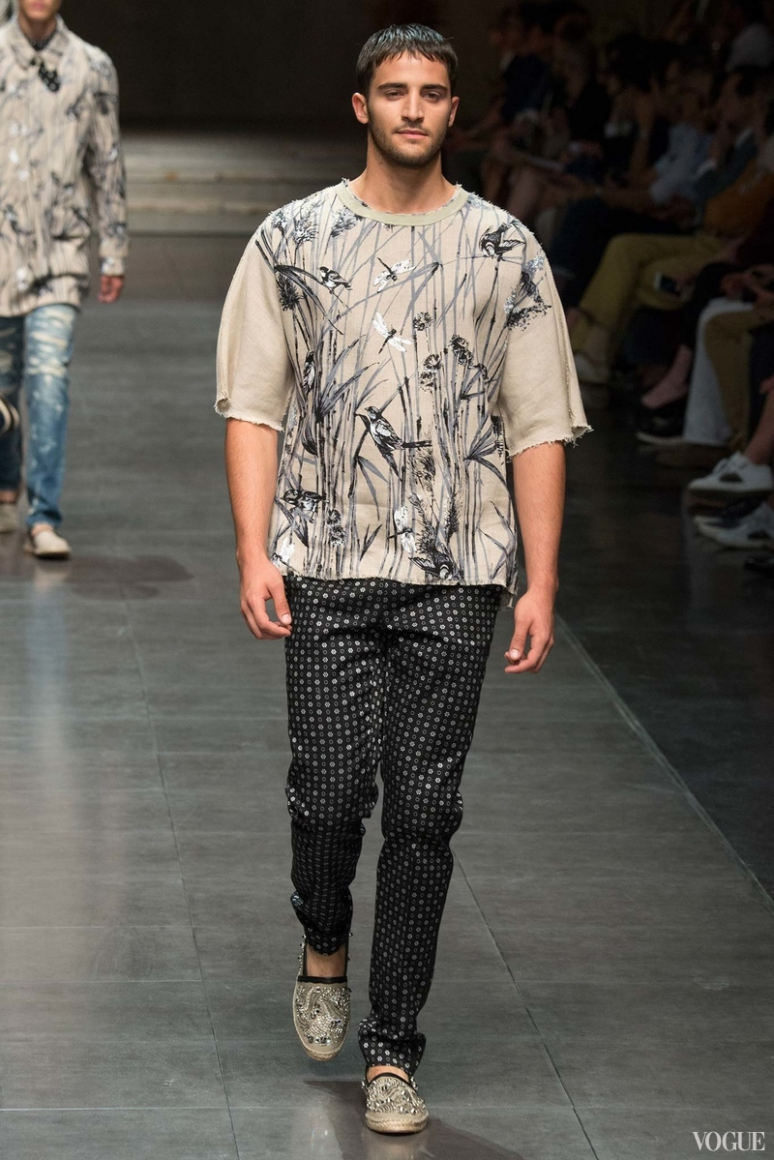 Dolce & Gabbana Menswear весна-лето 2016 #61