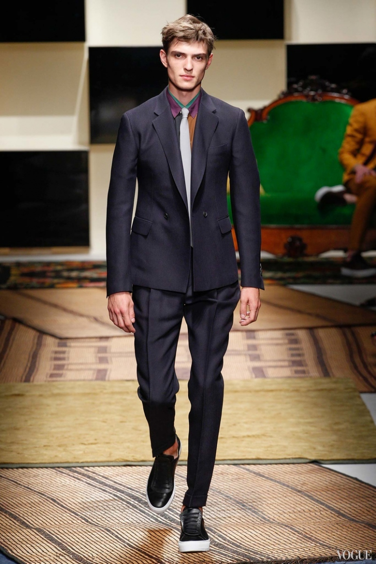 Salvatore Ferragamo Menswear весна-лето 2016 #8